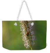 Meadow Foxtail Weekender Tote Bag