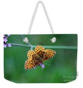 Meadow Fritillary Butterfly 2015 Weekender Tote Bag