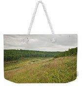 Meadow Green Weekender Tote Bag