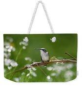 Meadow Hummingbird Weekender Tote Bag