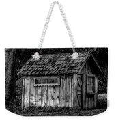 Meadow Shelter - Bw Weekender Tote Bag