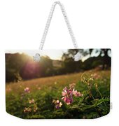 Meadow Sunset Weekender Tote Bag