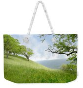 Meadow View Spring Weekender Tote Bag