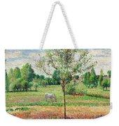 Meadow With Grey Horse, Eragny Weekender Tote Bag