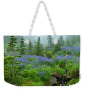 Meadows In The Mist Weekender Tote Bag