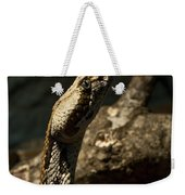 Mean Poisonous Snake Weekender Tote Bag