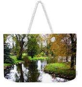Meandering Creek In Autumn Weekender Tote Bag