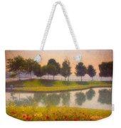 Measured Reflections Weekender Tote Bag