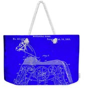 Mechanical Horse Patent Art 1b           Weekender Tote Bag
