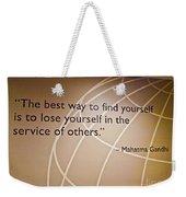 Med 146 Weekender Tote Bag
