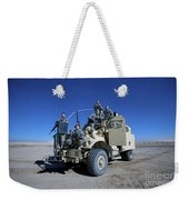 Medical Personnel Pose For A Group Weekender Tote Bag