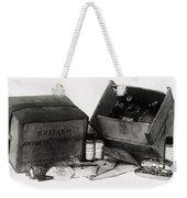Medicine Chest, Scott Polar Expedition Weekender Tote Bag