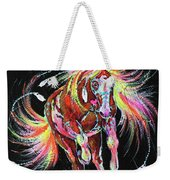 Medicine Fire Pony Weekender Tote Bag