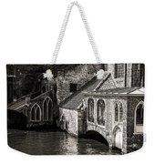 Medieval Architecture Of Bruges Weekender Tote Bag