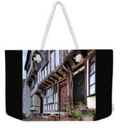 Medieval British Architecture - Dick Turpin's Cottage Thaxted Weekender Tote Bag