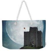 Medieval Castle At Night By Moonlight Weekender Tote Bag