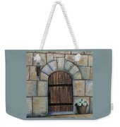 Medieval Door Weekender Tote Bag