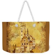 Medieval Golden Castle Weekender Tote Bag