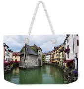 Medieval Jail In Annecy Weekender Tote Bag