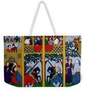 Medieval Scene Weekender Tote Bag