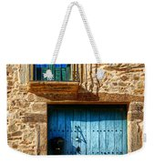 Medieval Spanish Gate And Balcony Weekender Tote Bag