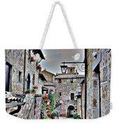 Medieval Street Weekender Tote Bag