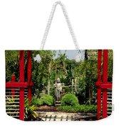 Meditation Garden Weekender Tote Bag