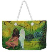 Meditation In Eden Weekender Tote Bag