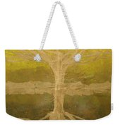 Meditation Weekender Tote Bag by Leah  Tomaino