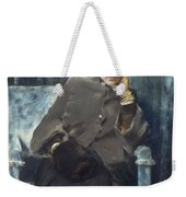 Meditation,  William Merritt Chase American, 1849-1916 1886 Weekender Tote Bag