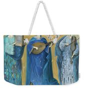 Meditations On The Holy Trinity  After The Music Of Olivier Messiaen, Weekender Tote Bag