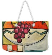 Mediterranean Fruit Cocktail Weekender Tote Bag