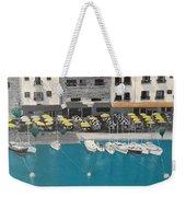 Mediterranean Harbour Weekender Tote Bag