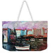 Mediterranean Port Weekender Tote Bag