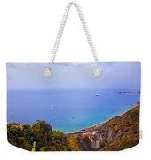 Mediterranean View Weekender Tote Bag