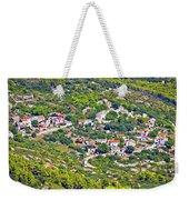 Mediterranean Village On Island Of Vis Weekender Tote Bag