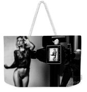 Medium Format Fashion Weekender Tote Bag