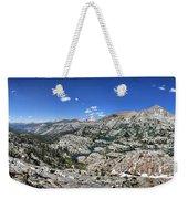 Medley Lake Basin Panorama From High Above - Sierra Weekender Tote Bag