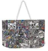 Medusa Maze Weekender Tote Bag by Zak Smith