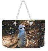 Meerkat Responding Weekender Tote Bag