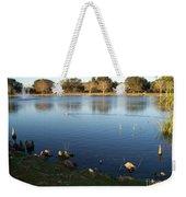 Meet Me At The Fountain Weekender Tote Bag