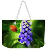 Meet Me At The Hyacinth Weekender Tote Bag