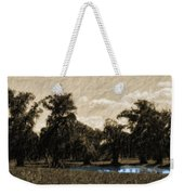Meet Me By The Willows Weekender Tote Bag