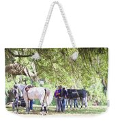 Meet Me Under The Trees Weekender Tote Bag