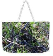 meet Ronnie the rattlesnake Weekender Tote Bag