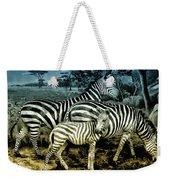 Meet The Zebras Weekender Tote Bag