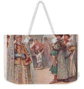 Meeting 1 Sergey Sergeyevich Solomko Weekender Tote Bag