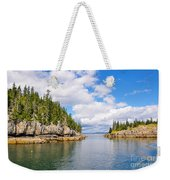 Meeting Of The Islands Weekender Tote Bag
