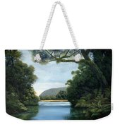 Meeting Of The Waters Weekender Tote Bag
