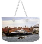Mega Luxury Yacht The Carinthia Vll In Venice, Italy Weekender Tote Bag